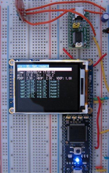 GPS NMEA parser | Mbed